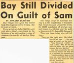 55/07/04 Bay Still Divided on Guilt of Sam by Cleveland News