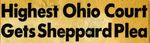 55/12/13 Highest Ohio Court Gets Sheppard Plea by Cleveland News