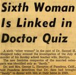 54/08/11 Sixth Woman Is Linked in Doctor Quiz