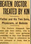 54/07/05 Beaten Doctor Treated By Kin by Cleveland Plain Dealer