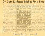56/12/01 Dr. Sam Defense Makes Final Plea