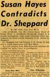 54/07/26 Susan Hayes Contradicts Dr. Sheppard by Cleveland Press