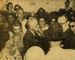 54/07/27 Photo: Expelled Lawyer Surrounded By Reporters And Crowd by Cleveland Plain Dealer