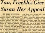 54/07/28 Tan, Freckles Give Susan Her Appeal