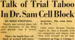 54/11/20 Talk of Trial Taboo by Cleveland News