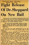 54/08/19 Fight Release Of Dr. Sheppard On New Bail