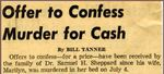 54/08/19 Offer to Confess Murder for Cash by Cleveland Press