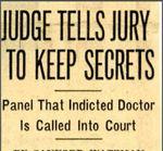 54/08/18  Judge tells jury to keep secrets