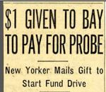 54/08/04 $1 given to Bay to pay for probe by Cleveland Plain Dealer