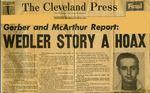 57/07/23 Gerber and McArthur report: Wedler story a hoax
