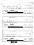 Plaintiff's Exhibit 0266: Paychecks of Kathie Collins Dyal (aka Andrews) by Ethel Durkin