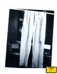 Plaintiff's Exhibit 0407: Sam Sheppard's trousers with samples cut out