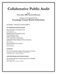 Collaborative Public Audit of the November 2006 General Election
