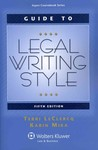 Guide to Legal Writing Style