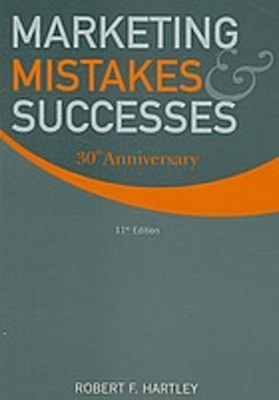 Marketing mistakes and successes 12th edition