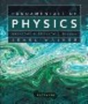 Fundamentals of Physics Extended, 9th ed.