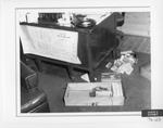 Desk Drawers on Floor of Den