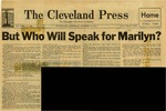 54/10/23 But Who Will Speak for Marilyn? by Cleveland Press