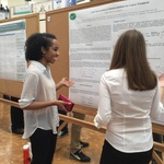 Photo Taken at the 2015 Undergraduate Research Poster Session
