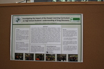 Photo Taken at the 2014 Undergraduate Research Poster Session by Vern Morrison