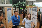 Photo Taken at the 2014 Undergraduate Research Poster Session