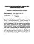 Characterization of Heterogeneous Reaction Systems by Thermal Analysis and Mathematical Modeling