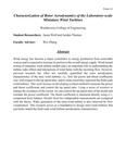 Characterization of Rotor Aerodynamics of the Laboratory-scale Miniature Wind Turbines