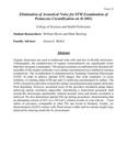 Elimination of Acoustical Noise for STM Examination of Pentacene Crystallization on Si (001)