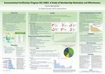 Environmental Certification Program ISO 14001: A Study of Membership Motivation and Effectiveness by Lauren Egensperger